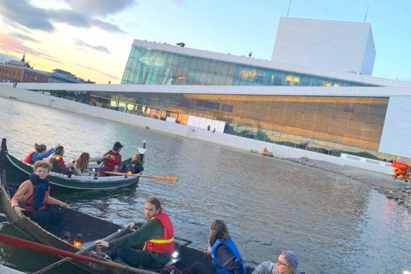 Viking rowing tour